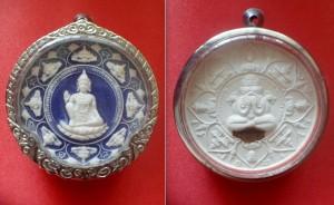 Rammathep & Phra Pidta Pangpakan of Wat Phra Mahathat Woromaha Vihan Year BE 2550