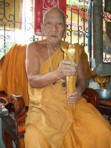 Luang Pu Keaw 107 years old